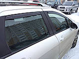 Дефлектори вікон вставні Fiat Palio / Albea 4D 2002->, 2шт, фото 7