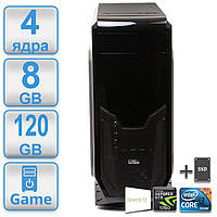 Игровой #16 POWERUP 1155 Intel Core i3 3220 (4*3,3ГГц)/8GB/SSD 120GB/GeForce GTX 1050 2GB