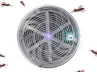Уничтожитель насекомых электрическим током на солнечной батарее