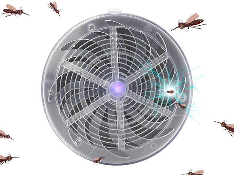 Знищувач комах електричним струмом на сонячній батареї
