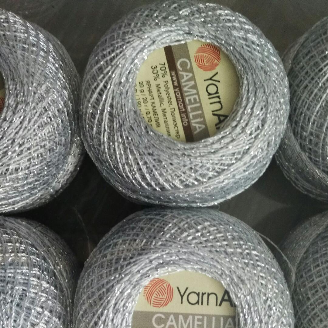 турецкая пряжа для вязания Yarnart Camelliaкамелия тонкая нить с