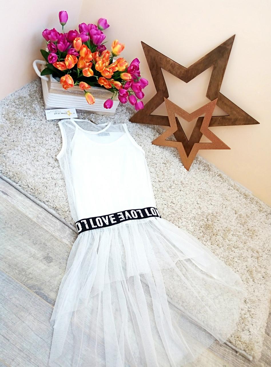 Туника-футболка для девочки 6-16 лет Оптом и в розницу Турция  Little star