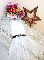 Туника-футболка для девочки 6-16 лет Оптом и в розницу Турция  Little star, фото 1
