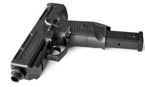Стартовый пистолет Stalker 925 (black) с запасным магазином