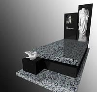 Елітний пам'ятник гранітний з Ангелом Е164