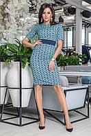Платье приталенное в расцветках 32503, фото 1