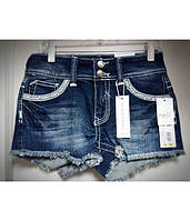 Шорты джинсовые женские со стразами RUE21