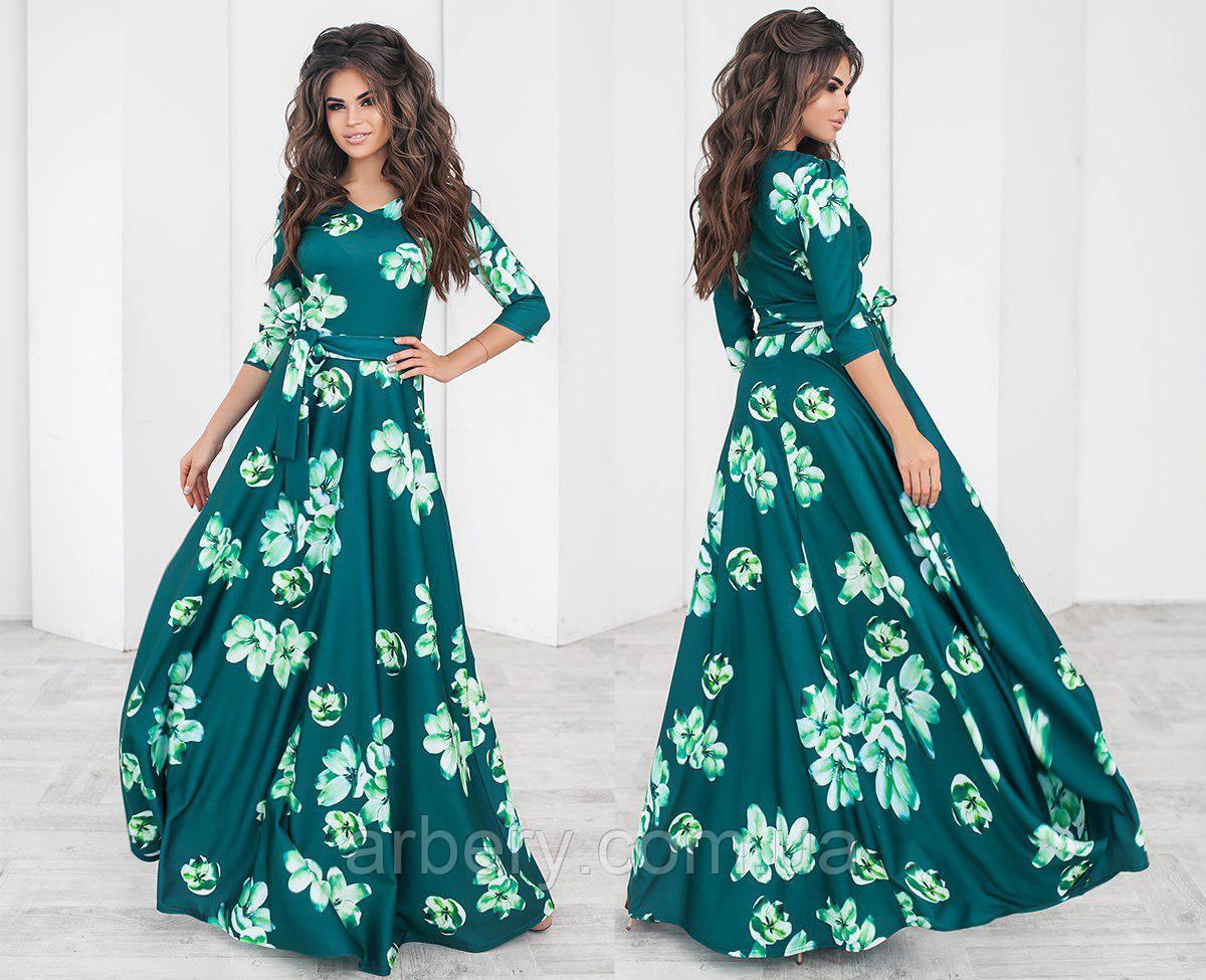 df14a5d85a39 Женское нарядное платье в пол с цветами   продажа, цена в Одессе. платья  женские от ...