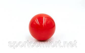 Бильярдный шар, биток (пул, красный)