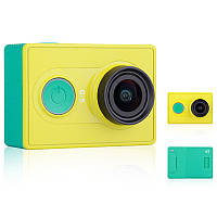 ➜Экшн-камера Xiaomi Yi Action Camera (Bluetooth version) Green с моноподом съемка FullHD видео Wi-Fi
