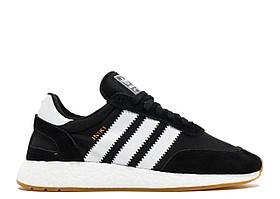 Кроссовки Adidas Iniki Runner Boost Black White Gum
