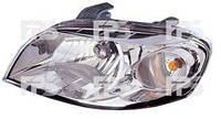 Фара левая(механическая) на Chevrolet Aveo,Шевроле Авео 06- Т250   FPS в магазине Kyzov-plus