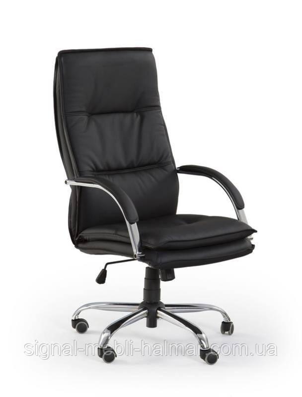 Компьютерное кресло STANLEY (черный) (Halmar)