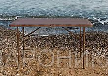 Стол пластиковый складной Rattan Design, 122 х 61 см