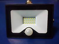 Прожектор светодиодный со встроенным датчиком движения Lemanso LMPS25 20W IP65