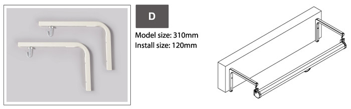 Настенное крепление для проекционного экрана 'D'