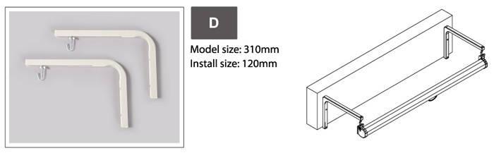 Настенное крепление для проекционного экрана 'D', фото 2