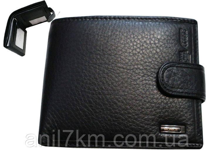 Мужской кожаный кошелёк Monice