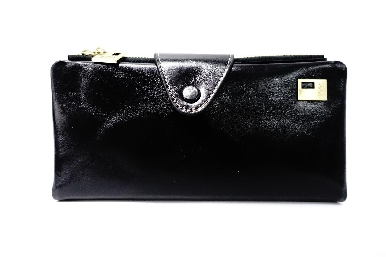 Кожаный кошелек JCCS JS3060 black