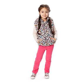 Детские жилетки оптом для девочек