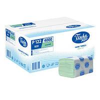 Полотенца бумажные ECO 200 листов зеленые
