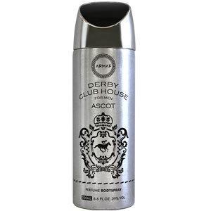 Парфюмированный дезодорант мужской  Derby Club House Ascot  200ml. Armaf (Sterling Parfum)