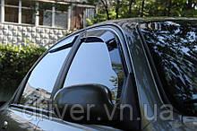 Дефлектори вікон вставні Hyundai Accent 2006-2010