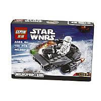 Конструктор LEPIN STAR WARS, аналог LEGO 100 предметов снежный спидер