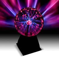Плазменный шар-антистрес Тесла с молниями