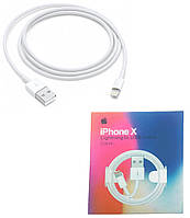 Оригінальний кабель для зарядки iPhone X XS XR XS Max - 1 м