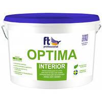 Краска латексная для стен и потолков FT Professional Optima Interior  3л./ 10л.