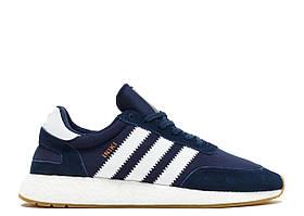 Кроссовки Adidas Iniki Runner Boost Navy Blue Gum