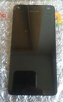 Оригинальный дисплей (модуль) + тачскрин (сенсор) с рамкой для Microsoft Lumia 550