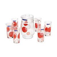 Набор питьевой Luminarc CONSTELLATION RED 7 приборов