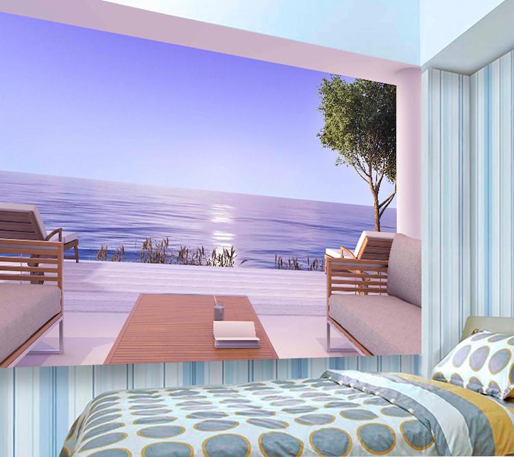 Фотообои 🌟 на стену Остров в море 3Д (3561): купить по приятной ... | 667x750