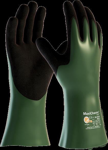 Защитные перчатки от химии и порезов MaxiChem® Cut™ 56-633