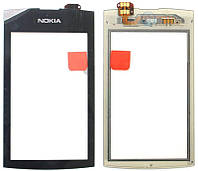 Nokia Asha 305 Сенсорный экран  черный