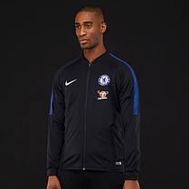 d36cbc46 Спортивная кофта Nike Chelsea FC Squad Track Jacket 905453-011 (Оригинал),  фото