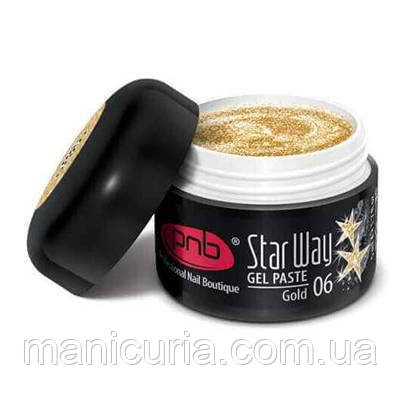 Гель-паста PNB Gel Paste Star Way 06 Gold, 5 мл
