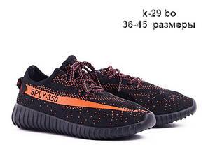 Adidas Sply 350 точная копия | кроссовки женские кеды 36р, 38 р. черные с оранжевым, фото 2