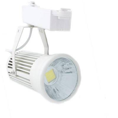 Светодиодный трековый светильник 20W белый 6500К Код. 58007, фото 2