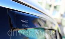 Дефлектори вікон Heko  Mazda 626 1997-2002 4D / вставні, 4шт/
