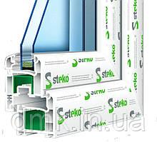 Металлопластиковые окна Steko S 300 Steel Star
