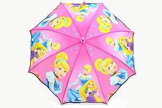 Зонт детский Золушка розовый
