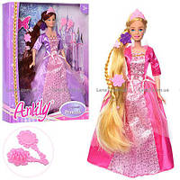 Кукла с длинными волосами зеркальце расческа, 99139, 006853