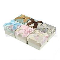 Подарочная коробочка для кольца  и серьг - Свадебный букет