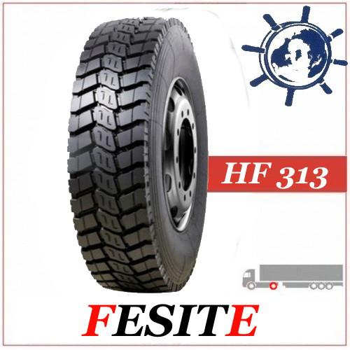 Шина 12.00R20 (320R508) 154/149K Fesitе HF313 ведуча, грузовые шины на МАЗ, усиленные шины Краз Китай