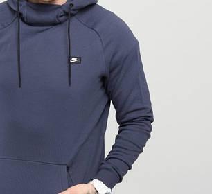 Толстовка Nike Modern Pullover Hoodie Mens 805128-471 (Оригинал) , фото 2