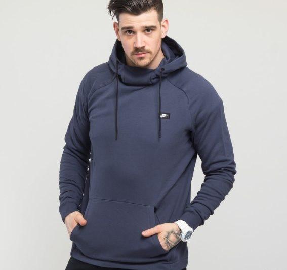 Толстовка Nike Modern Pullover Hoodie Mens 805128-471 (Оригинал)