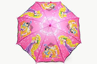 Зонт детский принцески розовый